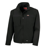 MA Softshell-Jacket Classic, black