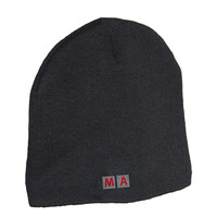 MA Knitted Cap, black