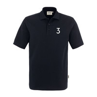 grandMA3 Polo-Shirt, black