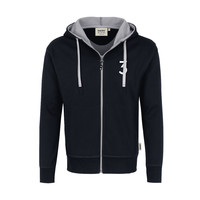 grandMA3 Hooded-Sweatjacket, black